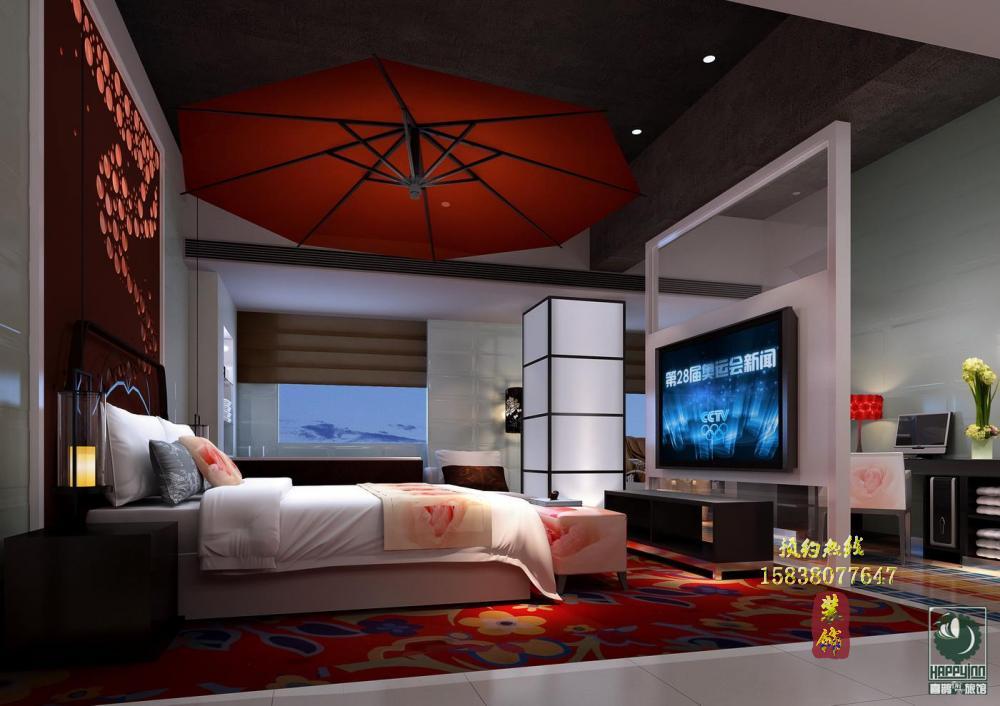 喜鹊愉家酒店设计案例