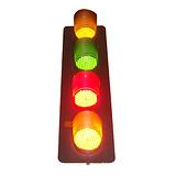 ABC-hcx黄 绿 红LED滑触线指示灯|设备信号灯