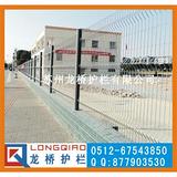 苏州小区护栏网 学校围墙护栏网 桃形柱护栏网 龙桥制造