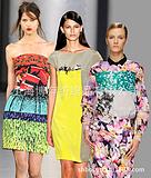 真丝、丝绸时装数码印花时装转移印花时装热升华