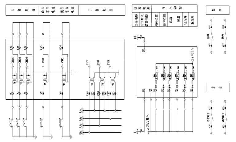 供应安科瑞am3微机线路综合保护测控装置10kv下配电线路保护
