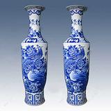 现代客厅摆件 陶瓷大花瓶 厂家花瓶批发
