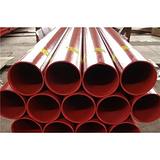 白色涂塑钢管双金属连接式汇众管道红色涂塑钢管双金属连接式