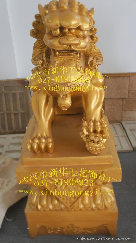树脂工艺品价格_玻璃钢狮子雕塑 景观雕塑 大型广场 .