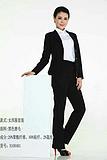 厂家直销 女士韩版时尚小腰身西服套装 支持定制