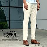 男士合体休闲裤 2015夏季新款男士韩版九分裤青少年裤装批发