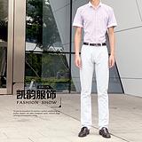 2015夏季新款男士韩版 弹力时装裤