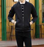 厂家直销 男式休闲外套茄克衫 2015新品一件代发