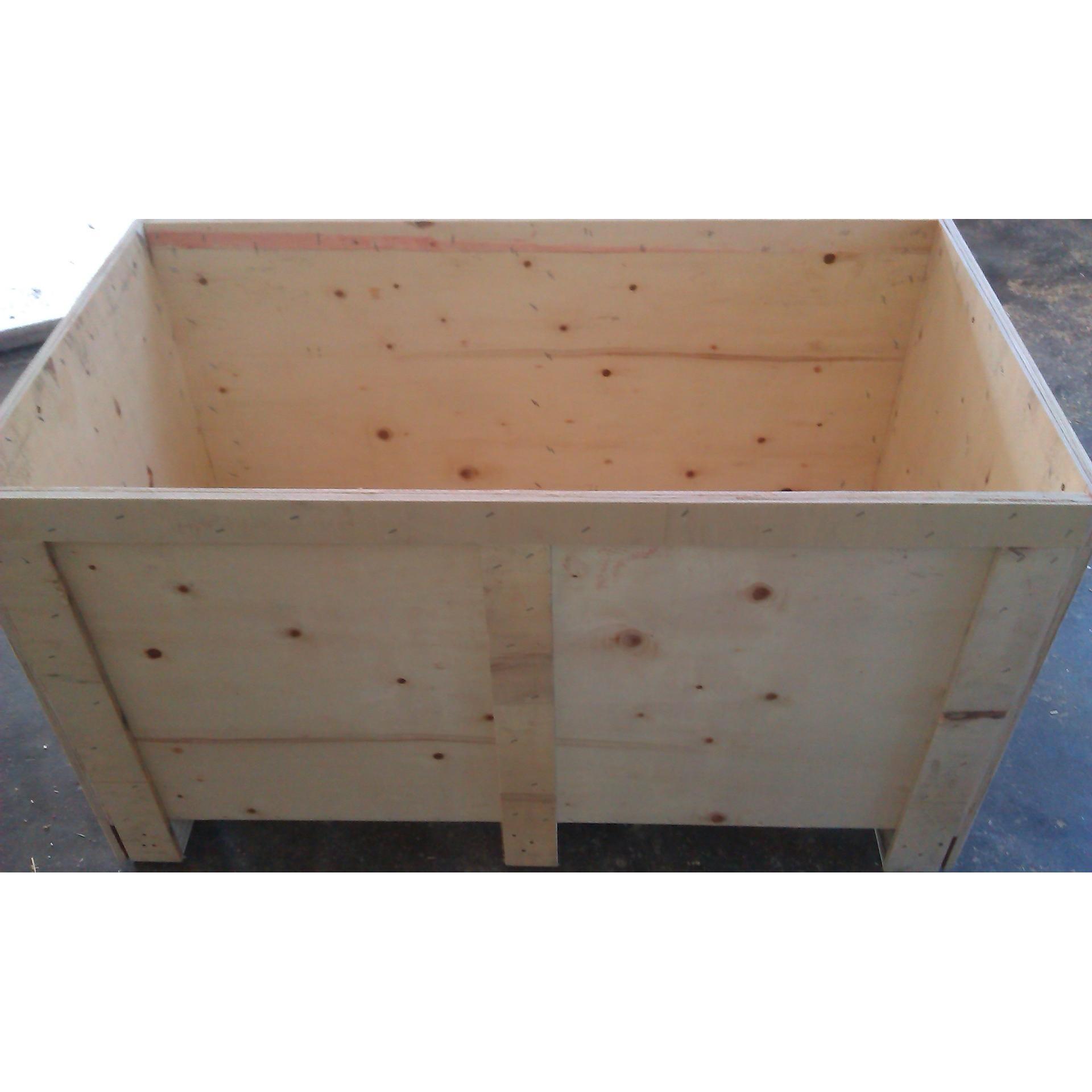 木箱价格_苏州钢带箱出口免熏蒸木箱批发价格