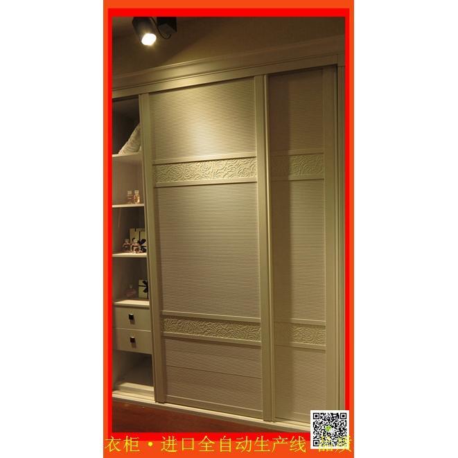 欧式衣柜批发 e0颗粒板衣柜,多层板衣柜推拉门整体大衣橱
