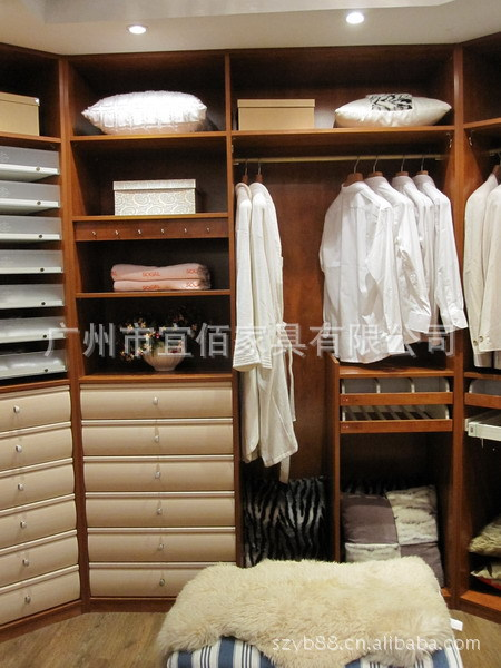 出口环保eo家具 欧式衣柜定制 家庭衣柜定制 优质整体衣柜组合