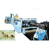 青岛大口径加筋管生产线大口径加筋管生产线益丰塑机图