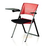 学校阅览室椅子,可折叠带写字板椅,学习培训椅子定做厂家批发