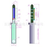 化工厂顶装式磁翻板液位计-模拟量输出