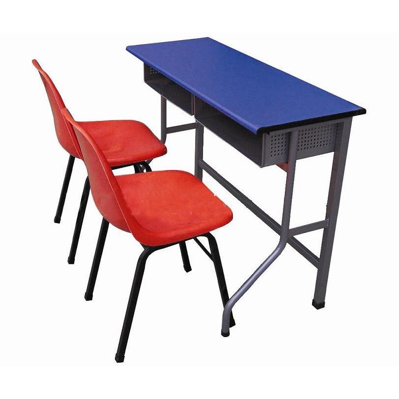双人课桌椅,学校书桌,厂家直销