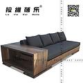 西餐厅实木沙发  上海咖啡厅实木沙发  上海实木沙发厂