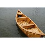 山东安徽浙江买卖欧式两头尖手工制作装饰欧式手划木头船多少钱