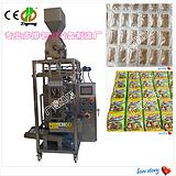 多排鸡精白糖颗粒包装机械,DXD-K6高效多排味精颗粒包装机价格