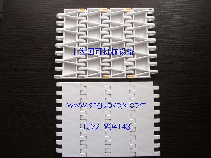 OPB平板网带。8505平板网带,8505烟草输送带,蓄电池塑料网带,耐酸碱网带,620平格网带,6200平格网带,射频烘干机网带,蓄电池输送塑料网带,GK2520平板网带,916转弯网带,4809杀菌带,OPB网带,300型网带,400型网带,900型网带,1100型网带,5935型网带,400滚珠网带A-V、a-v链轮;网带,链网,网链,链板,平板输送链条,输送链板。 上海国可公司专业生产销售:波浪串条网带,乙字型网带,长城网带,异型网带,链条传动网带,扁金属网带,方孔网带,人字型传送网带,螺旋网带