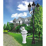 厂家热销砂铸铝翻沙铁压铸铝欧式庭院灯