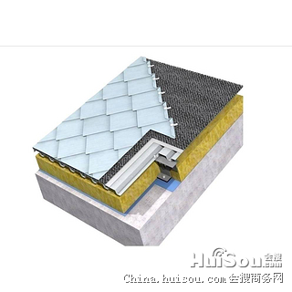杭州萌萧   0.7mm厚钛锌板平锁扣440-900型