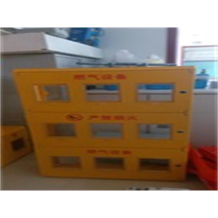 四表位燃气表箱效果图 新型天然气表箱报价