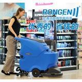容恩R50托线式洗地机 可长时间工作的手推式洗地机