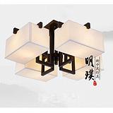 中式吸顶灯 卧室现代中式吸顶灯 卧室简约现代中式吸顶灯代理加盟