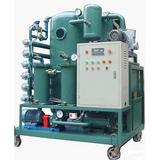 龙潭、船营绝缘油变压器油真空滤油机 PLC全自动控制油净化机