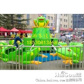 弹跳青蛙游乐设备弹跳青蛙金山机械制造多图