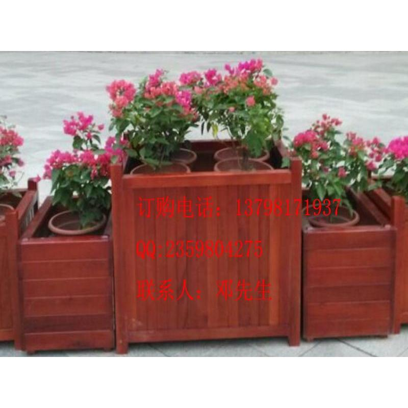 花盆容器价格 佛山不锈钢花箱 园林街道不锈钢实木包边花箱 户外防腐花盆批发价格 广州市