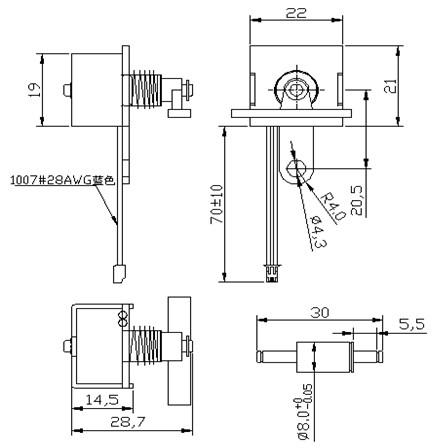 bs-0814-01 拍打式电磁铁