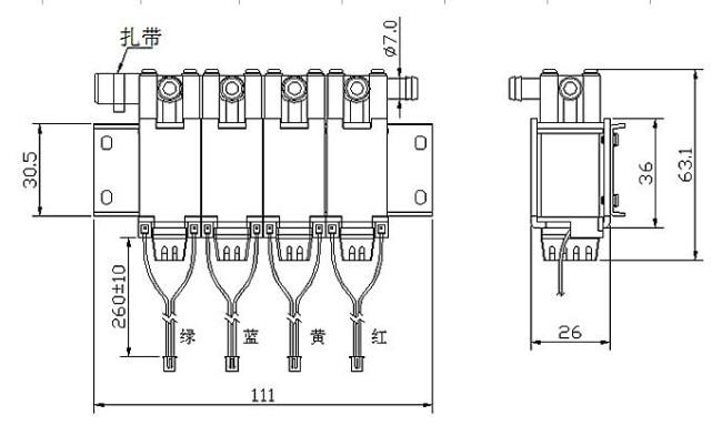 结构简单,动作可靠,在零压差和微真空下正常工作,常开型正好相反,如小于6流量通径的电磁阀。 小型和简易的排气管设计,价格低,主要应用于电子血压计、美容美体器材、按摩保健器材、医疗器械等。 选型因素: 依据管道参数:通径规格,接口方式。 依据流体参数:材质、高温、粘度。 依据电压要求:直流、交流 依据工作时间长短:常闭,常开 依据环境要求:防爆,止回,手动,防水雾,水淋,潜水