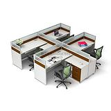 西安办公家具高品质屏风隔断员工位办公区隔断