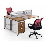 西安办公桌椅|西安职员桌椅|雅凡办公家具批发西安钢木员工桌椅