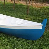 热卖景观木船欧式手划船 观光游船 手工制作婚纱拍摄道具船