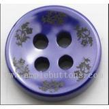 新款時尚陶瓷鈕扣 精致襯衫西服扣 環保高檔紐扣