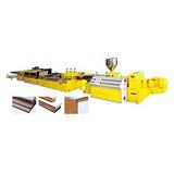 供应PVC木塑发泡板材生产线PVC木塑发泡板材生产线益丰塑机