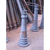 供应庭院灯三环,六角沙铸铝铸铁底座灯杆花枝中固