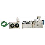 PVC穿线管生产线_益丰塑机_PVC穿线管生产线设备