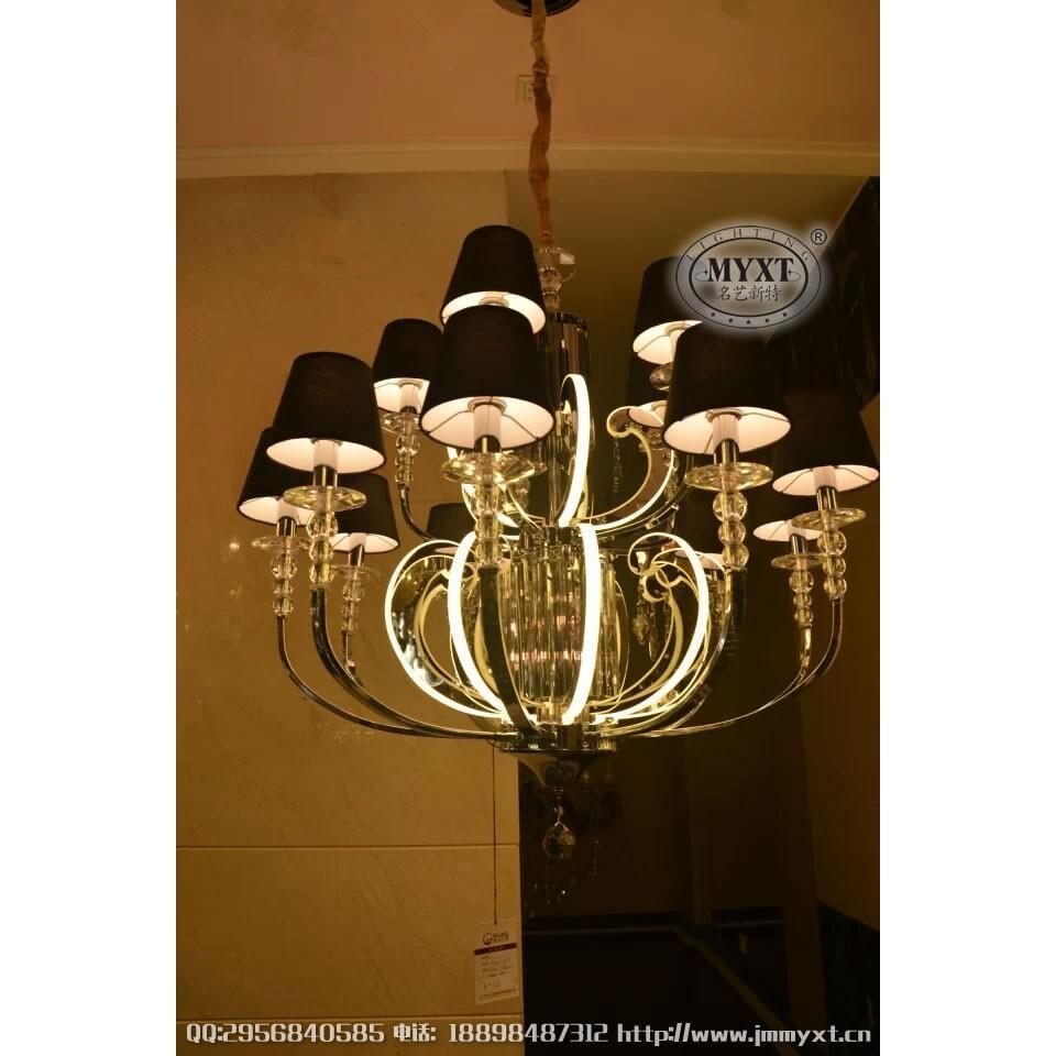 新款欧式吊灯 欧式灯臂发光吊灯 新款欧式水晶吊灯 欧式水晶吊灯定制