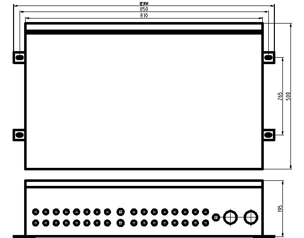 12回路光伏防雷汇流箱 光伏智能汇流箱 光伏汇流箱厂家