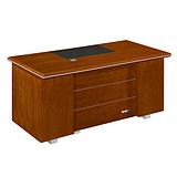 西安办公家具实木办公桌电脑桌职员桌