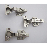 家具柜门链接五金配件二段力阻尼铰链缓冲二段力液压铰链