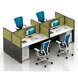 西安辦公隔斷 雅凡家具廠家設計定制精品辦公室員工屏風隔斷