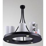 新中式餐厅吊灯 圆形中式客厅吊灯  明璞新中式吊灯代理加盟
