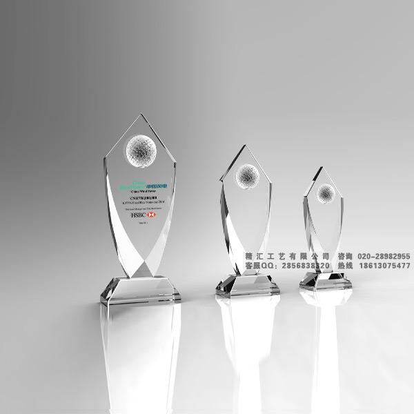 水晶奖杯定制价格 服装设计比赛奖杯制作