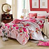 厂家直销纯棉全棉三件套四件套单人双人床单式四件套学生床上用品