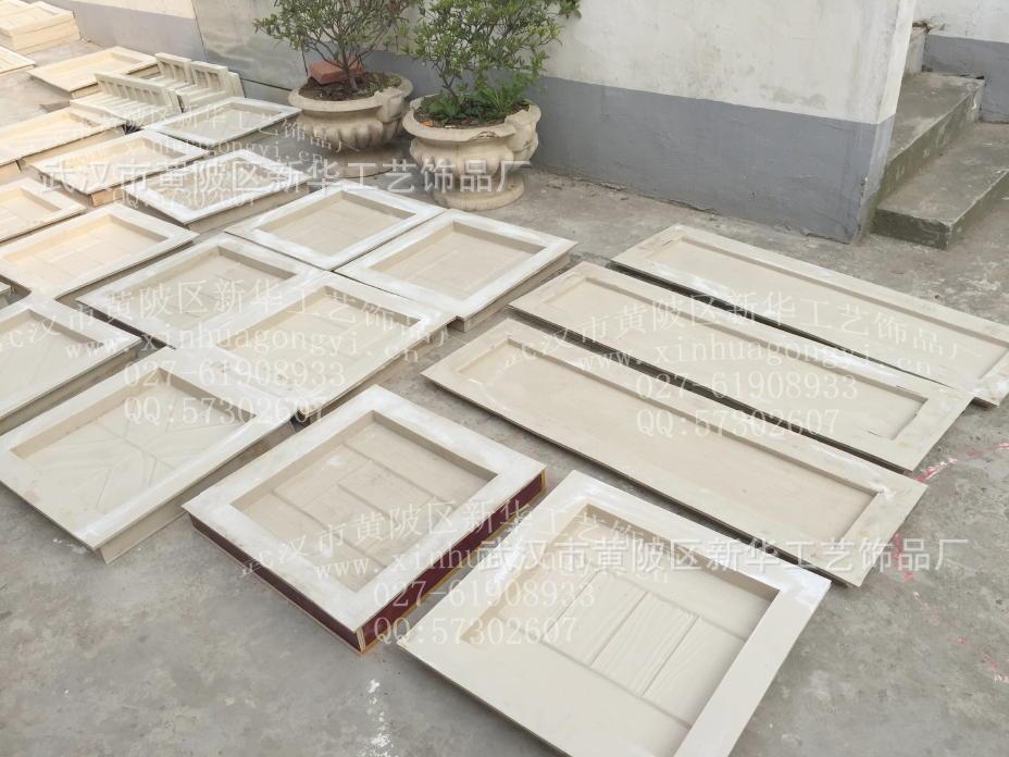 长方形仿木纹板模具14