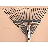 河北廊坊舒适厂家直销 园林工具 24齿铁柄耙子 草耙 落叶耙